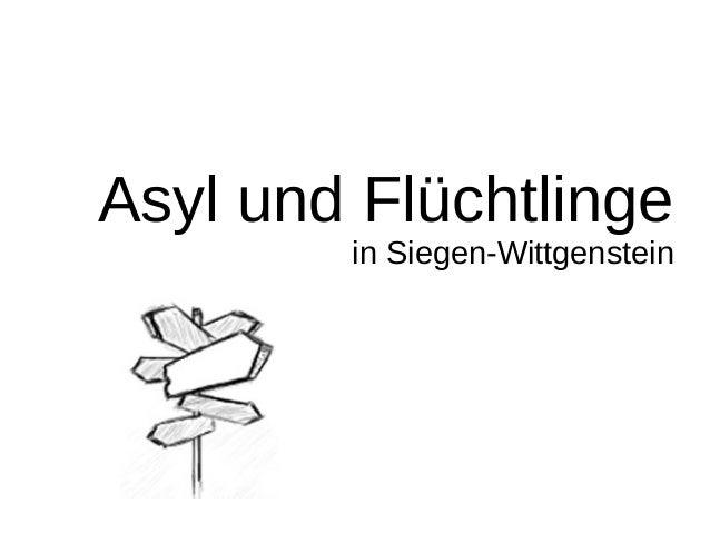 Asyl und Flüchtlinge in Siegen-Wittgenstein