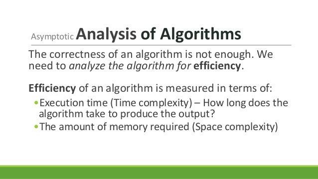 Lecture 5 Asymptotic Analysis Of Algorithms