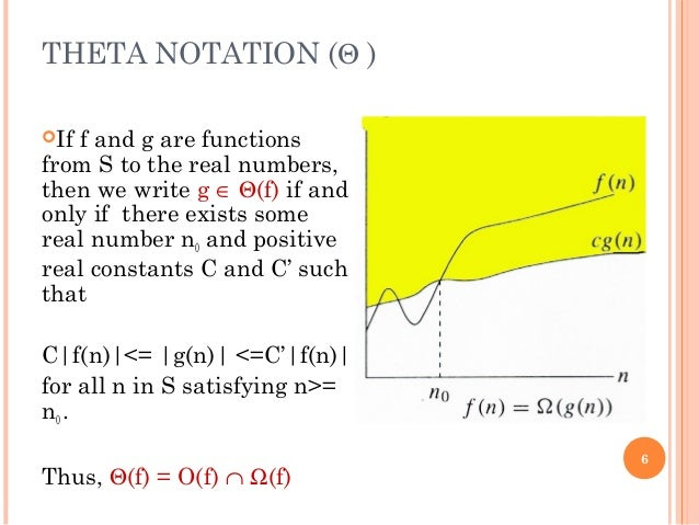 asymptotic notation 3 growth of functions the order of growth of the running time of an algorithm, dened in chapter 2, gives a simple characterization of the  31 asymptotic notation.