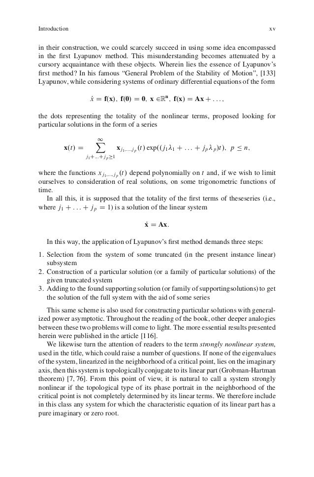 nonlinear ordinary differential equations problems and solutions pdf