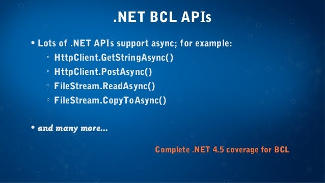 C# Async on iOS and Android - Craig Dunn, Developer