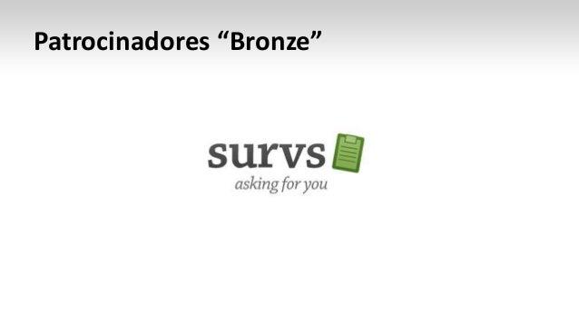 "Patrocinadores ""Bronze"""