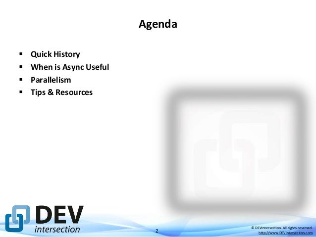 Async ASP.NET Applications Slide 2
