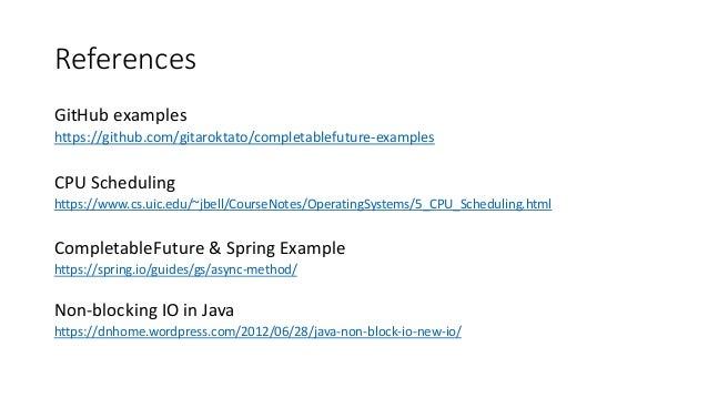 Asynchronous Programming Using Completablefutures In Java
