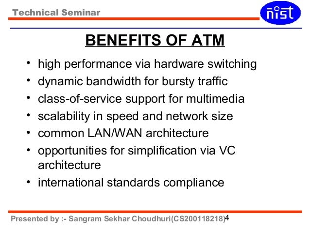 an introduction to asynchronous transfer mode atm networking Asynchronous transfer mode (atm)  technical seminar introduction • high  atm standard is interworking between atm and frame relay • two atm networking .