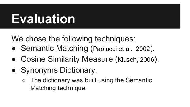 A New Matchmaking Algorithm Based on Multi-Level Matching