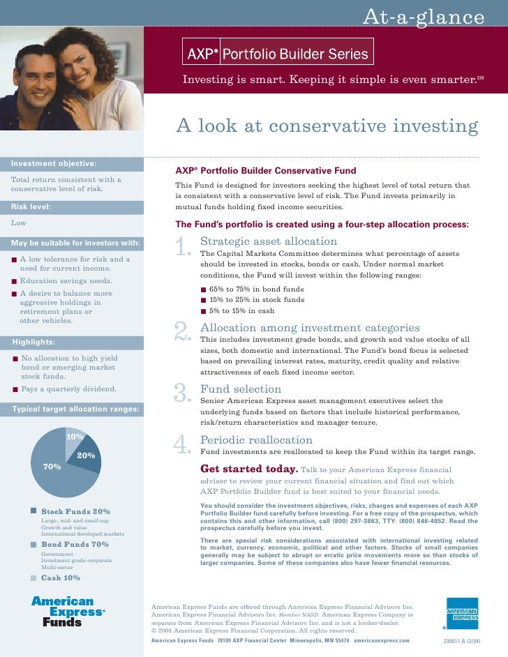 At-a-glance                                                        Investing is smart. Keeping it simple is even smarter. ...