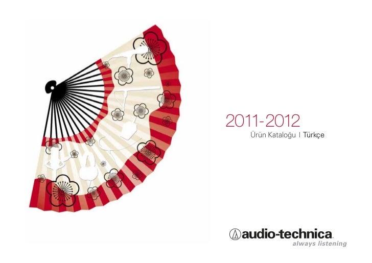 2011-2012  Ürün Kataloğu I Türkçe