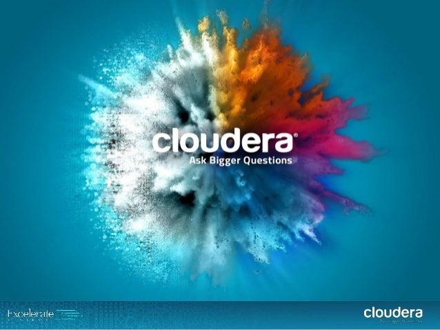 BigDataBx #1 - Atelier 1 Cloudera Datawarehouse Optimisation