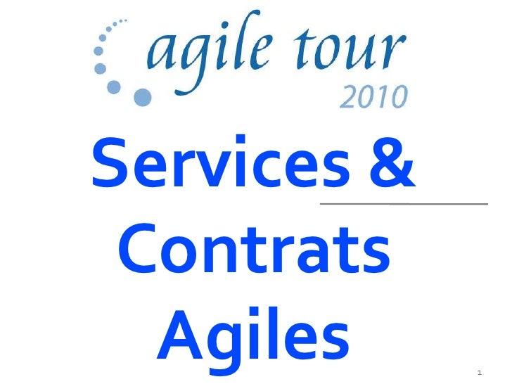 Services & Contrats Agiles