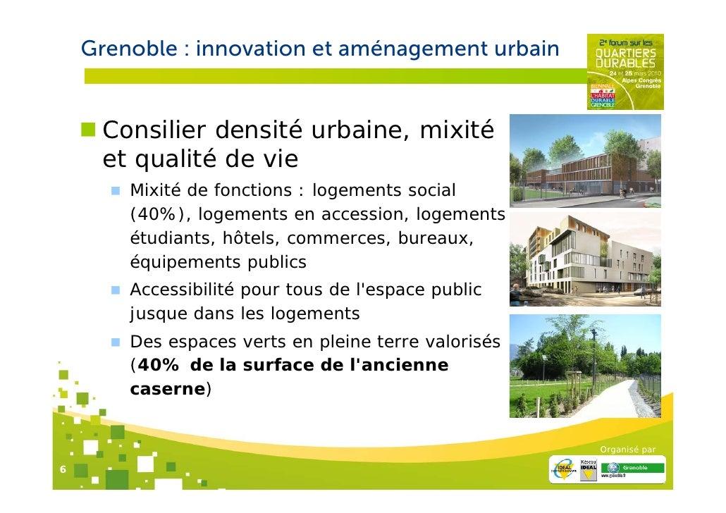 Zac de bonne de grenoble innovation et am nagement urbain for Les espaces verts urbains