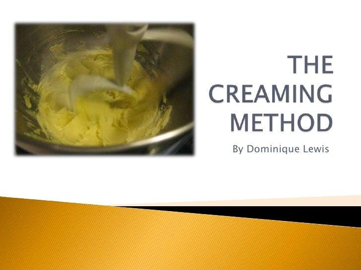 Caking Mixing Methods