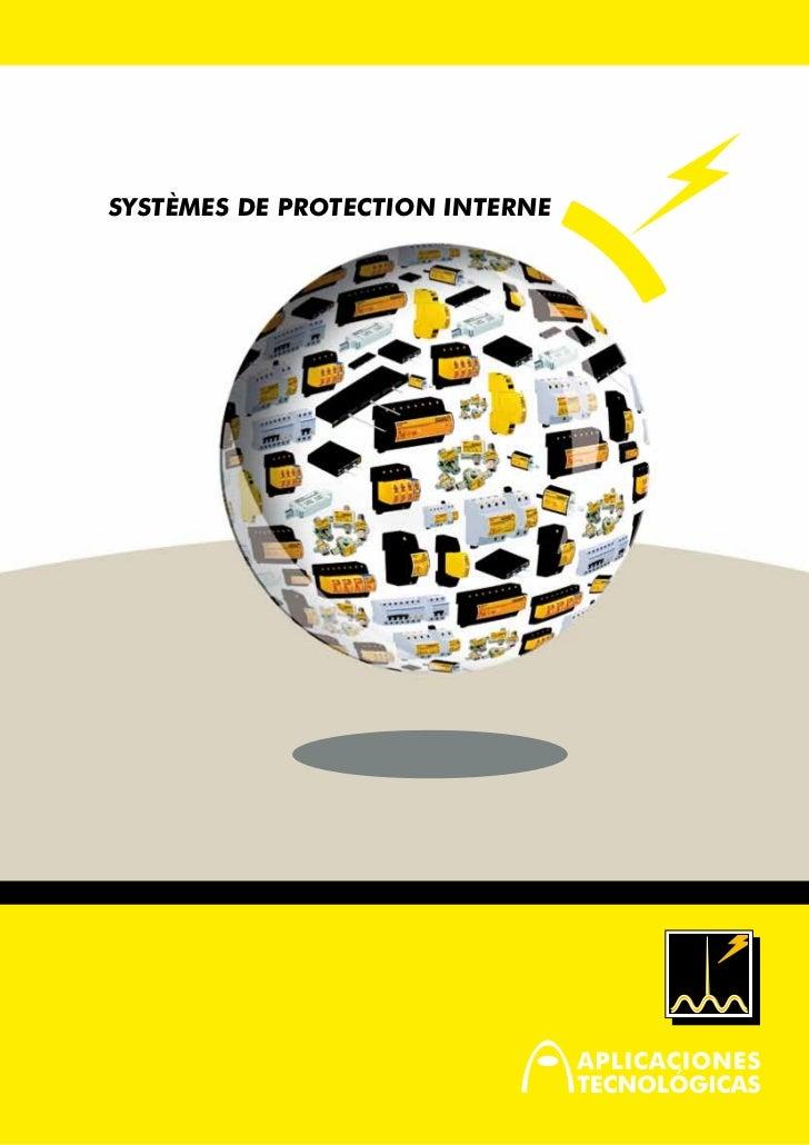 SYSTÈMES de PROTECTION INTERNE