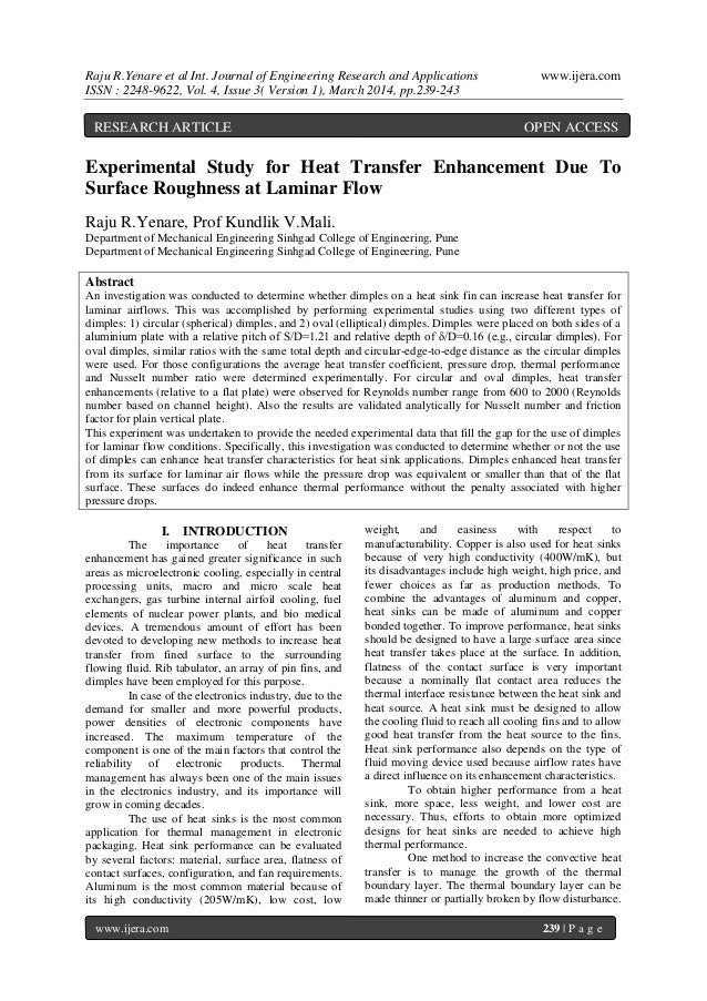 Raju R.Yenare et al Int. Journal of Engineering Research and Applications www.ijera.com ISSN : 2248-9622, Vol. 4, Issue 3(...