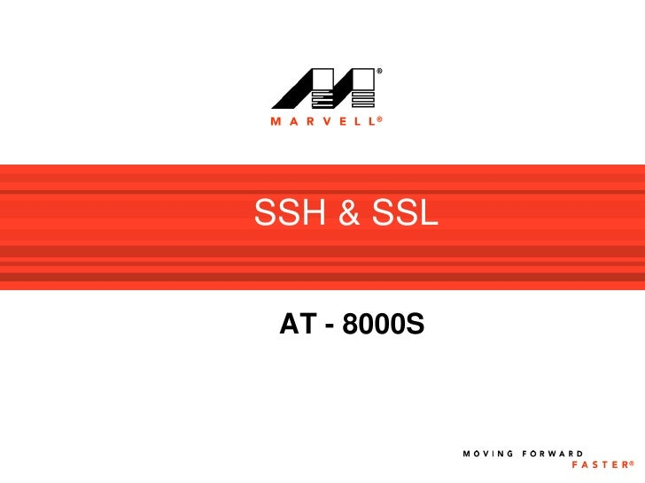 SSH & SSL    AT - 8000S