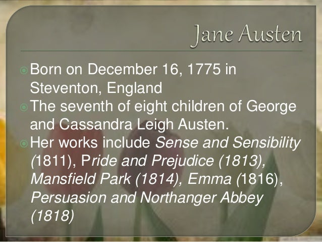 jane austen analysis