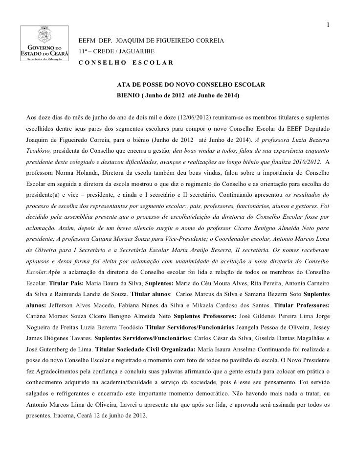 1                    EEFM DEP. JOAQUIM DE FIGUEIREDO CORREIA                    11ª – CREDE / JAGUARIBE                   ...