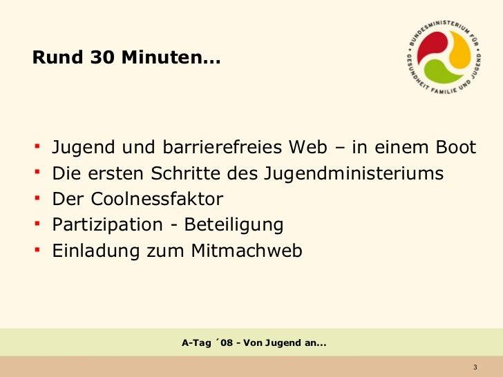 """Von Jugend an..."" am A-Tag ´08 Slide 3"