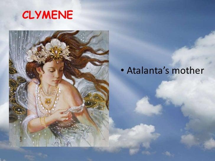 Atalanta Greek Mythology.