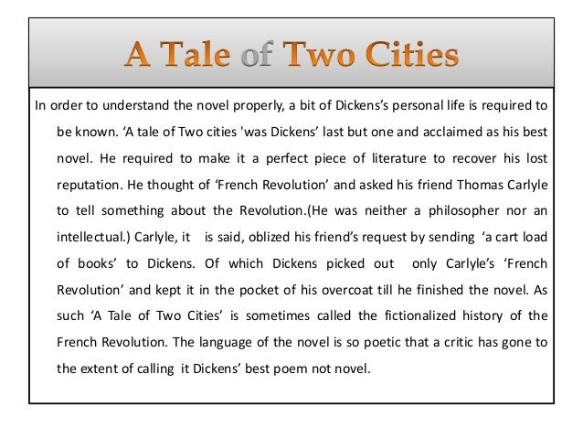 dickens the french revolution and the legacy of a tale of two cities Consider what crises dickens is attempting to resolve by referencing the french revolution to  in a tale of two cities dickens  legacy of charles dickens.