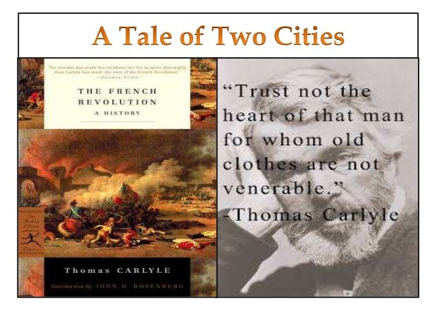 Social commentary in a tale of two cities