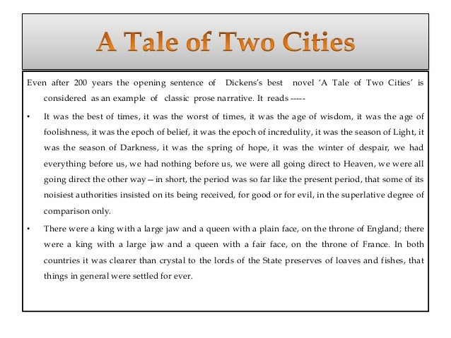 oppression in a tale of two cities essay Dickens's a tale of two cities is renowned for its complex yet simple usage of literary devices these devices seem to tie the entire novel together, and they dickens portrays carton much differently than he portrays any other characters in a tale of two cities he stands out mostly from the way dickens.
