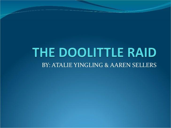 BY: ATALIE YINGLING & AAREN SELLERS
