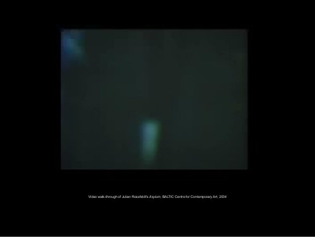 Video walk-through of Julian Rosefeldt's Asylum, BALTIC Centre for Contemporary Art, 2004