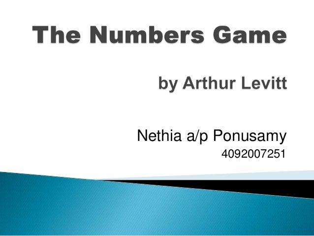 Nethia a/p Ponusamy 4092007251