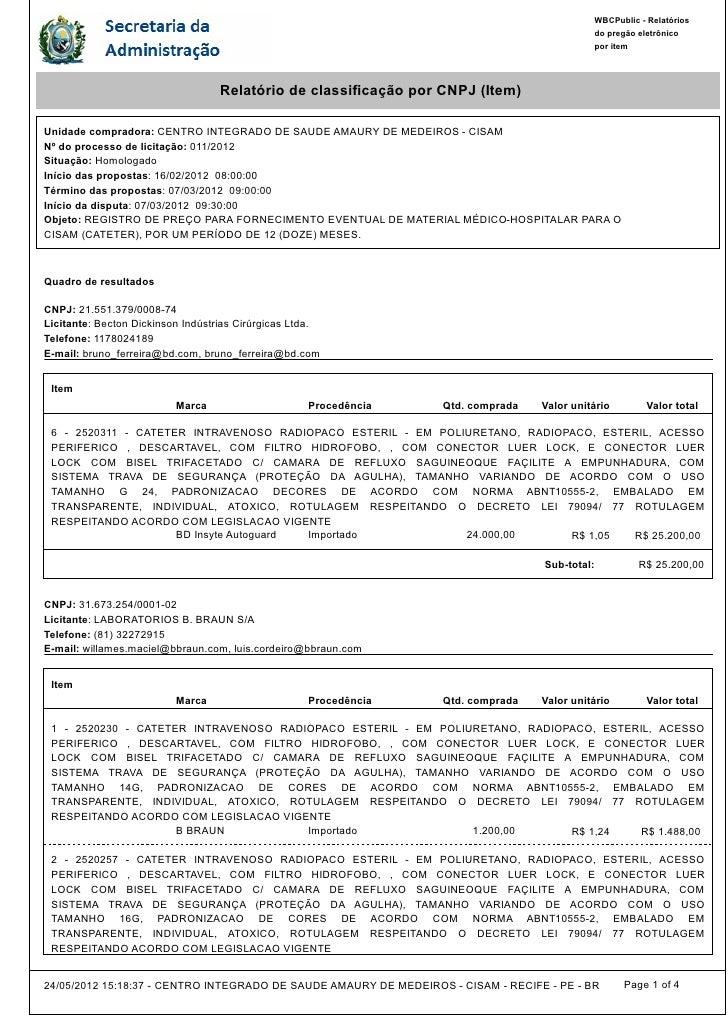 WBCPublic - Relatórios                                                                                             do preg...