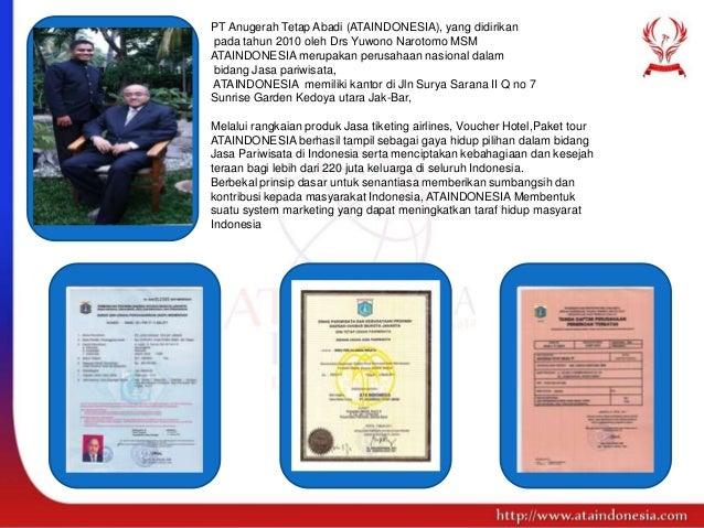 Sistem Bisnis Tiket Pesawat Online ATA Indonesia