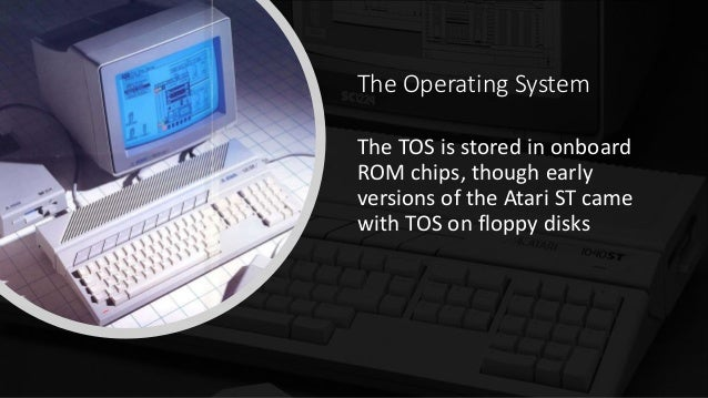 Atari ST - History of The OS