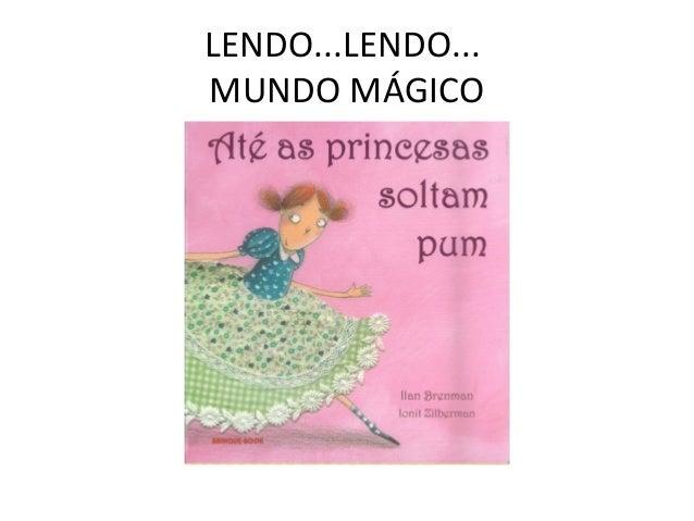 LENDO...LENDO... MUNDO MÁGICO