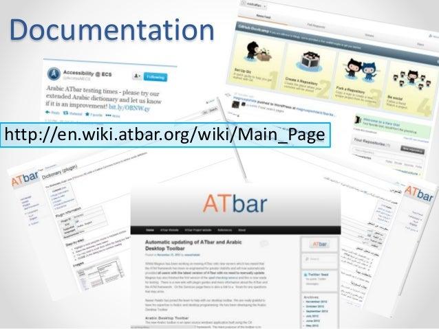 Documentation  http://en.wiki.atbar.org/wiki/Main_Page