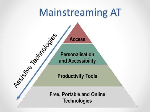Mainstreaming AT