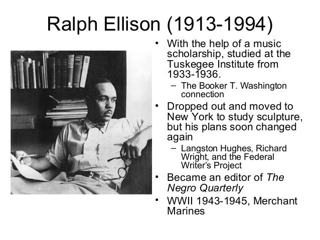 an analysis of invisible man by ralph ellison A literary analysis of short story battle royal by ralph ellison pages 2 words 1,808 view full essay more essays like this: literary analysis, battle royal, ralph.