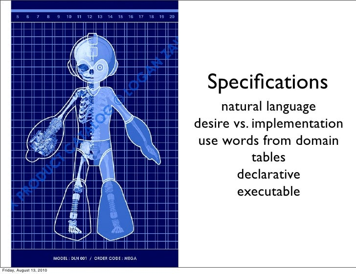 Specifications                                natural language                           desire vs. implementation         ...