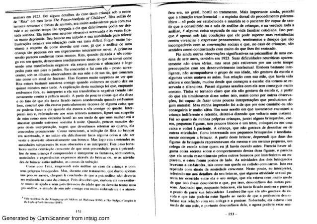 A técnica psicanalítica através do brincar m.klein Slide 2