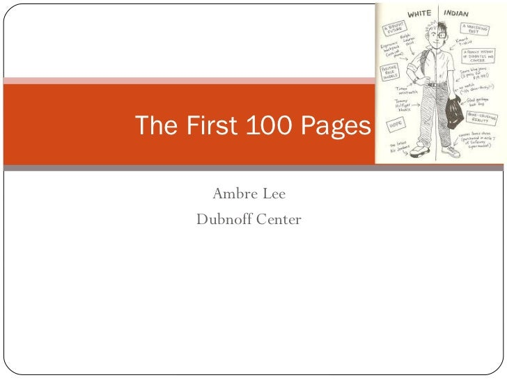 Ambre Lee Dubnoff Center The First 100 Pages