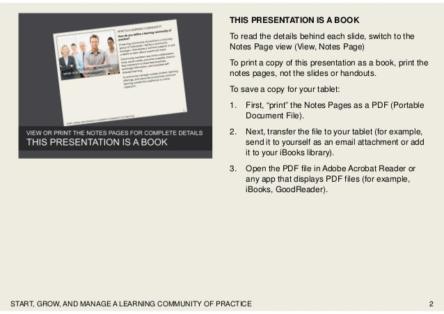 THIS PRESENTATION IS A BOOK To read the details behind each slide, switch to the Notes Page view (View, Notes Page) To pri...