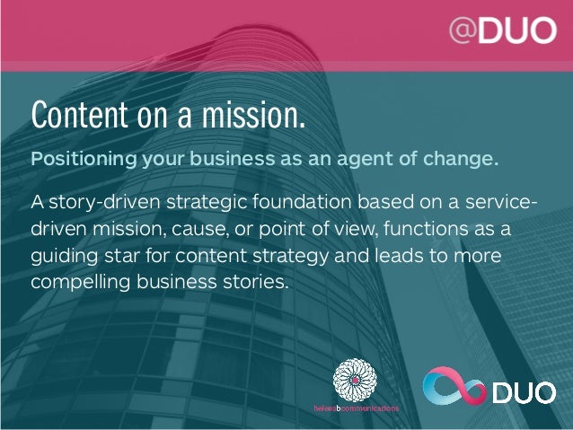 Better Content Strategy & Business Storytelling Slide 2