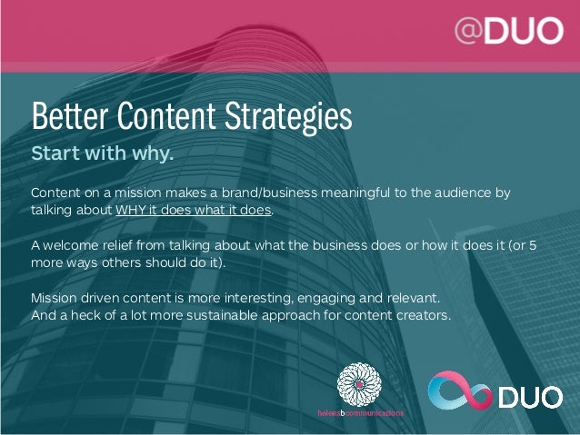 Better Content Strategy & Business Storytelling Slide 3