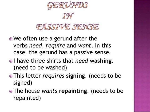 GERUND AND GERUND PHRASES – Gerunds and Gerund Phrases Worksheet