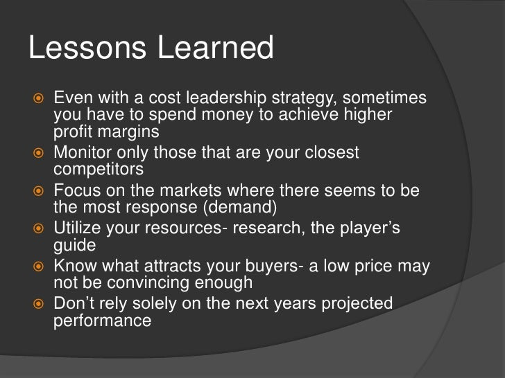 lessons learned bsg game Seven lessons i learned from the failure of my first startup, dinnr by michal bohanes (background: dinnr was an ad-hoc, same day ingredient delivery serviceselect a recipe on our website, and we .