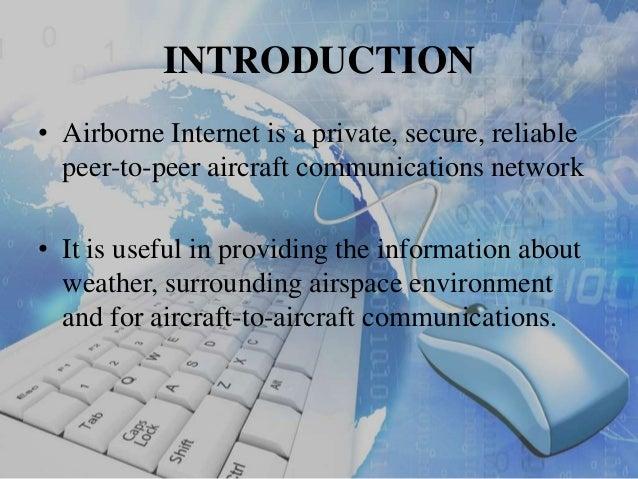 Airborne Wireless Network >> A technical seminar on air borne internet