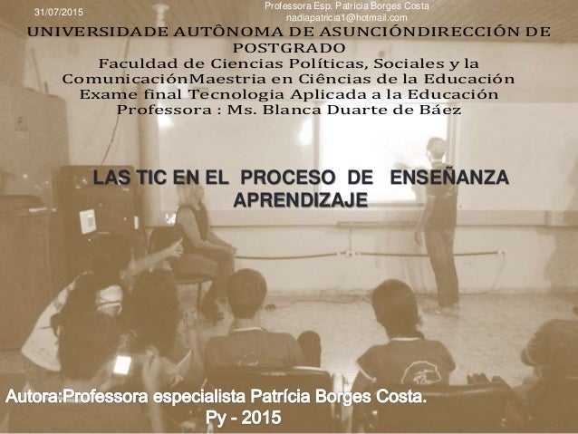 UNIVERSIDADE AUTÔNOMA DE ASUNCIÓNDIRECCIÓN DE POSTGRADO Faculdad de Ciencias Políticas, Sociales y la ComunicaciónMaestria...