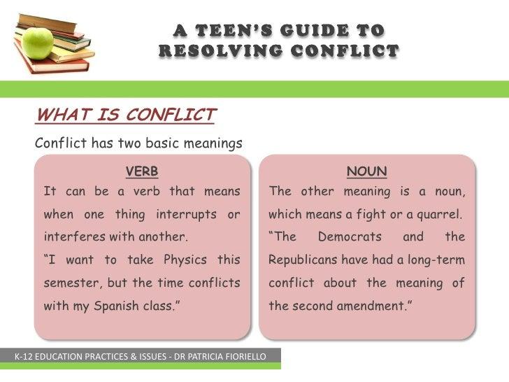 Conflict Verb - descargardropbox