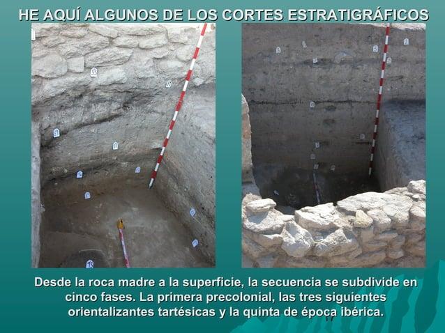 17HE AQUÍ ALGUNOS DE LOS CORTES ESTRATIGRÁFICOSHE AQUÍ ALGUNOS DE LOS CORTES ESTRATIGRÁFICOSDesde la roca madre a la super...