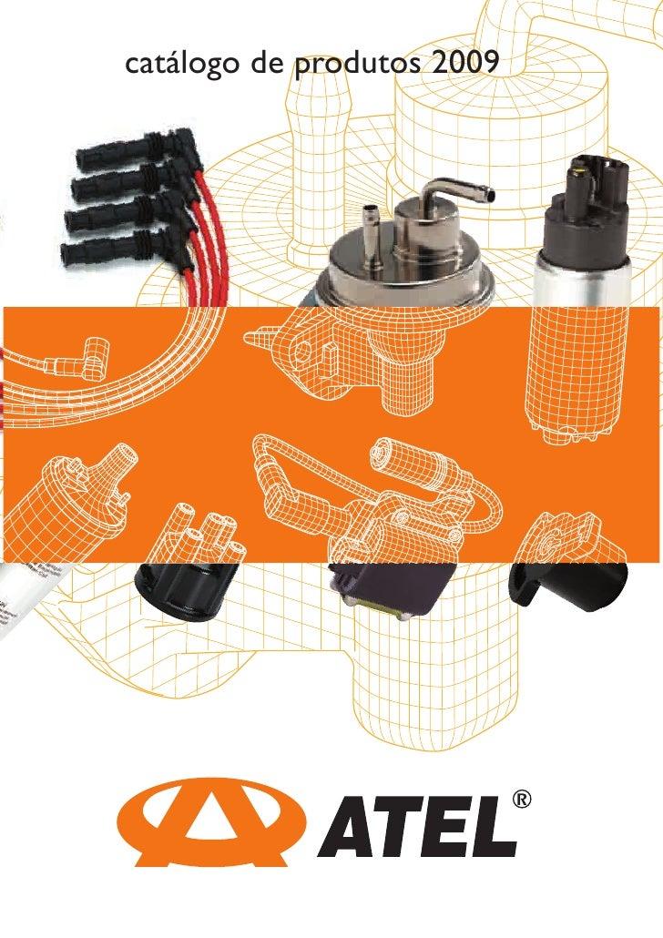catálogo de produtos 2009
