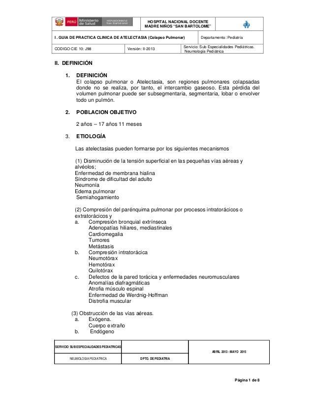 Atelectasia 2013 aprobado 2013